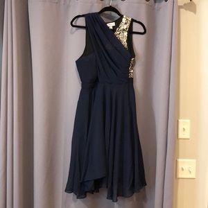 Phillip Lim for Target Navy/Black/Sequin Dress 6